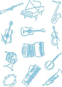 Jazz musical instruments