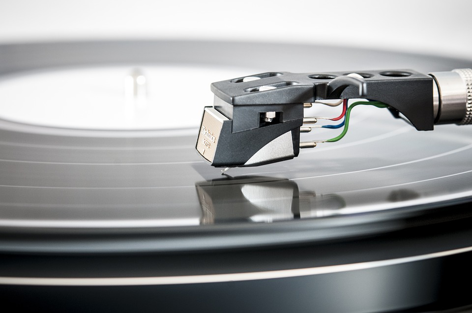 music record player