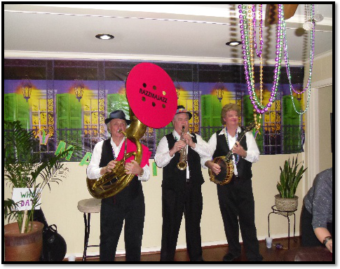 Paying Tribute to the Founding Fathers | Razzmajazz Dixieland Band