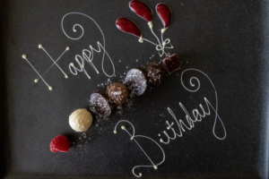 happy birthday choclates